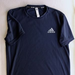 adidas Climalite Navy Shirt